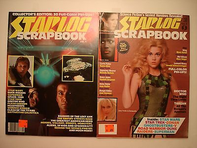 Used Lot 18 STARLOG StarTrek Official Movie Science Fantasy Mags Back Issues
