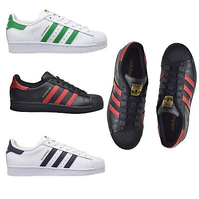 Adidas Originals Boys Girls Kids Unisex Shoes SUPERSTAR Foundation Sneakers NEW