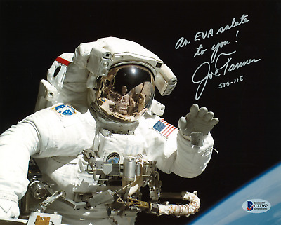 Joe Tanner Signed 8x10 Photograph BAS C77362 STS-115, STS-82, STS-97, STS-66