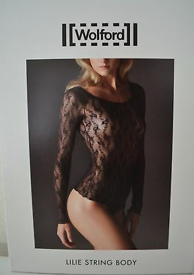 SEXY Wolford  LILIE string body S OVP madeira Spitze