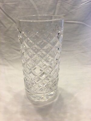 Waterford Small Cut Crystal Bud Vase 6 Glass Cylinder 2999