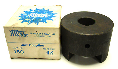 New Martin 150 Jaw Coupling Bore Size 1 1/4
