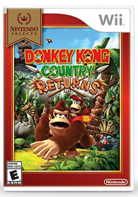 Wii Adventure-Donkey Kong Country Returns  (Us Import)  Wii New