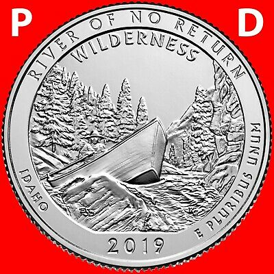 2017 P&d George Rogers Clark National Park Two Quarters Set Uncirculated