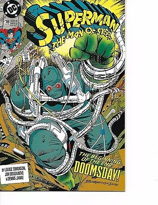 Superman Man Of Steel #18 1St Appearance Doomsday 1992