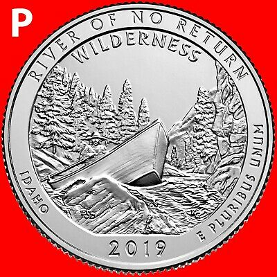 2017-P George Rogers Clark National Park One Quarter Uncirculated From Roll