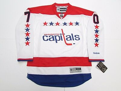 Braden Holtby Washington Capitals White Third Reebok Premier Hockey Jersey 96d34eac0