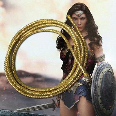 Wonder Woman Diana Cosplay Rope Accessories String Cord Props Climbing Equip Hot