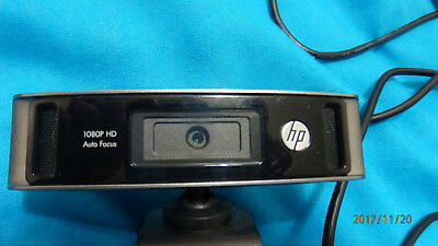 HP HD4310 1080p webcam with stereo microphone