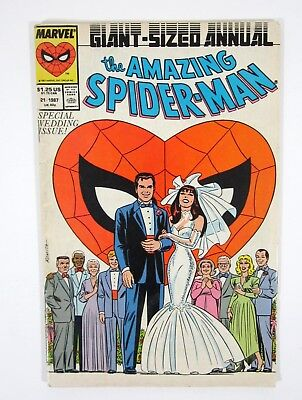 Amazing Spider-Man Annual #21 Peter Parker Cover Marvel Comics