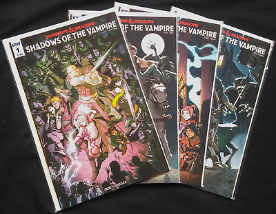 Complete Run - #1 through #4 - Dungeons & Dragons: Shadows of the Vampire