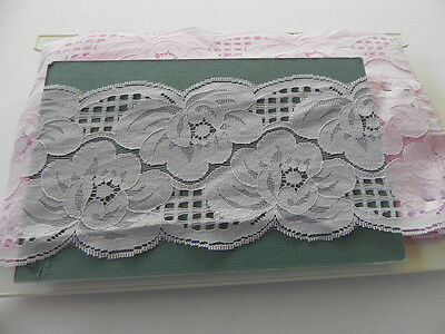 Card of New Wide Lace - Pink