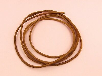 Natural Genuine Round LEATHER CORD for Making Bracelet Necklace ~1.5mm or 2mm~