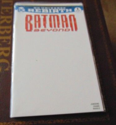 Batman Beyond #1 Blank Variant