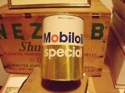 Vintage  Mobil Special Oil Can