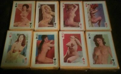 vintage gaiety brand 54 models colour playing cards