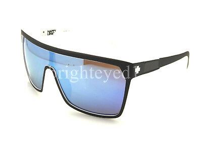 Authentic SPY Flynn Whitewall Edition Black/White Sunglasses 670323209437 *NEW*