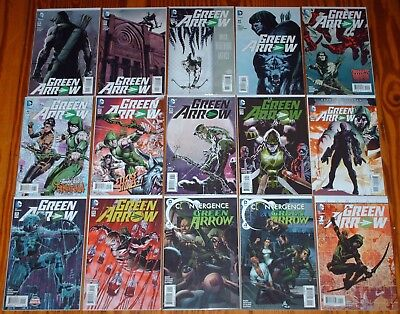 Green Arrow 41 - 52 Convergence 1 2 Annual Nm 1St Print Dc New 52 Justice League