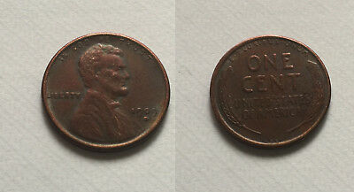 1909 S VDB Lincoln Wheat Cent Penny Souvenir Coin