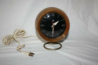 RARE GEORGE NELSON HOWARD MILLER DESK CLOCK 1960s SPACE AGE