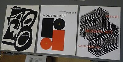 7 ARS LIBRI Catalogs--Guides to Collecting Modern Art Books, 2010-2012