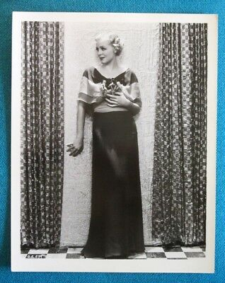 Gloria Stuart 1933 Original Vintage Universal Photo 20 x 25 cm The Invisible Man