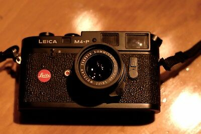 Leica m4-p with 40mm f2 Summicron C