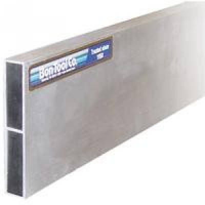 Bon 24-121 3/4-Inch by 4-Inch by 8-Foot Reinforced Aluminum H-Screed with Plasti