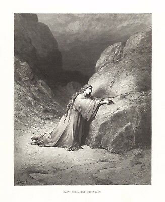 Gustave Dore: MARY MAGDALENE REPENTANT