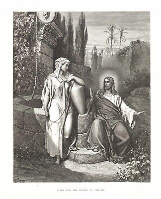 Gustave Dore: JESUS AND THE WOMAN OF SAMARIA