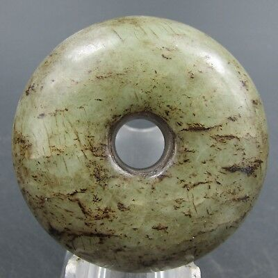 Chinese hard jade Jadeite hand-carved collection Pendant necklace tag 23