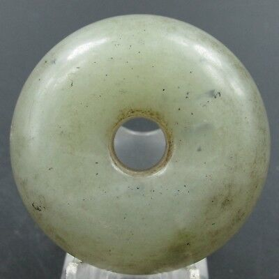 Chinese hard jade Jadeite hand-carved collection Pendant necklace tag 24