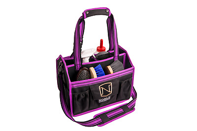 Noble EqinEssential Horse Grooming Tote Bag - Blackberry