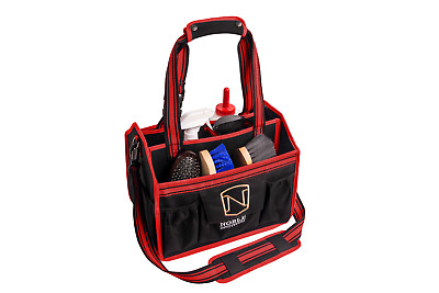 Noble EqinEssential Horse Grooming Tote Bag - Red