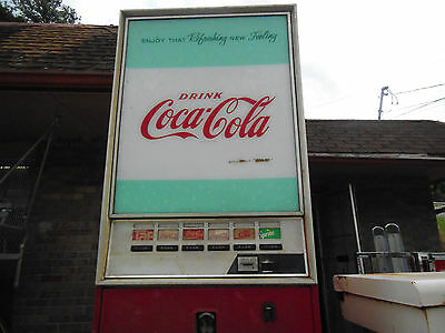 Vintage Coke Machine Westinghouse Wb126-B6-D