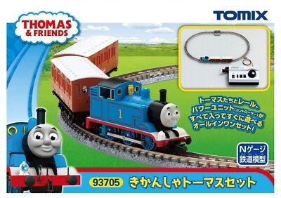 F/S Tomix N Gauge Thomas The Tank Engine Set Model Train Introductory New