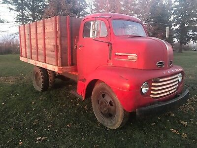 1949 Ford F6 COE Cabover  Very solid North Dakota truck