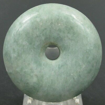 Chinese hard jade Jadeite hand-carved collection Pendant necklace tag 42