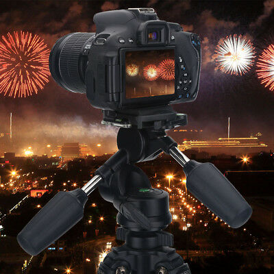 "360° Rotating Camera Tripod Ball Tilt Head With Quick Release Plate 1/4"" Screw"