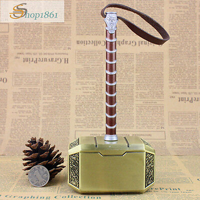 Thor Hammer 1:2 Replica New Marvel's Avengers Movie Prop Mjolnir Model Cosplay
