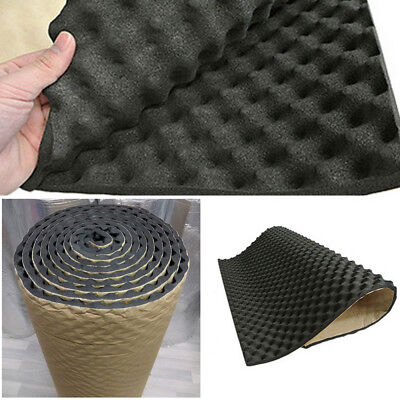 20MM Car Sound Deadener Noise Insulation Acoustic Dampening Foam subwoofer Mat