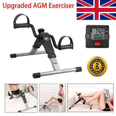Exercise Bikes Digital Pedal Arm Leg Aid Mini Folding Fitness Mobility exerciser