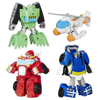 NEW Playskool Heroes Transformers Rescue Bots Griffin Rock Team Vehicles 6T8Qze1