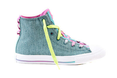 5f3a0f2e942e CONVERSE JUNIOR CTAS Loopholes 654240C Sneakers Teal Aqua UK 5