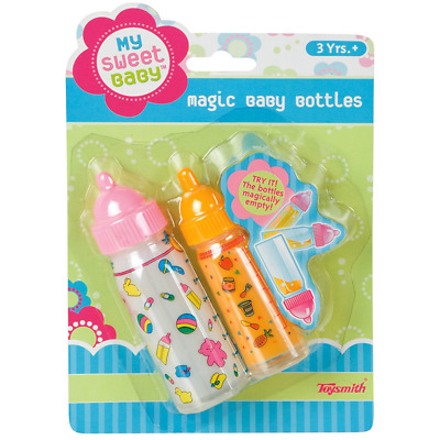 Magic Baby Bottle Play Set Doll Accessory Pretend Play NEW Milk Juice Bottle TOY