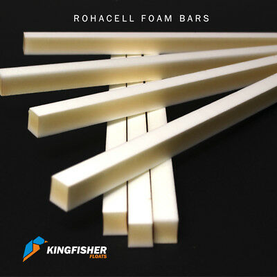Rohacell 51HF Foam Bars for Making High Quality Fishing Floats 600mm Pack of 5