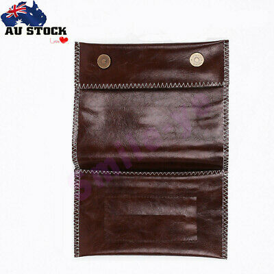 PU Leather Cigarette Tobacco Pouch Bag Durable Stitching Case Rolling Paper