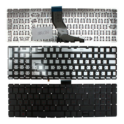 French Layout Backlit Black Windows 8 Keyboard For HP Pavilion 15-ab251nw