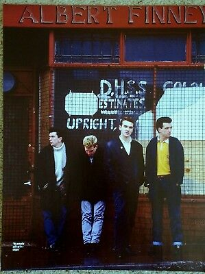 THE SMITHS / MORRISSEY - Full Page Magazine Picture Photo Cutting - Vintage RARE