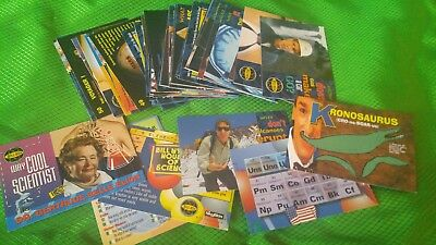 Lot of 50 Bill Nye The Science Guy Playing/Educational Cards Collectibe from1996